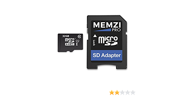 MEMZI PRO 32GB Class 10 90MB//s Micro SDHC Memory Card with SD Adapter and Micro USB Reader for ROAV In Car Dash Cameras
