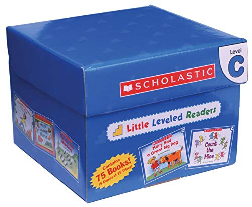 Little Leveled Readers: Level C Box Set: Just the Right Level to Help Young Readers Soar!