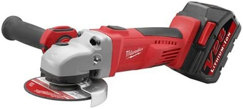 Milwaukee 0725-21 28-Volt 4-1 2-Inch Lithium-Ion Cordless Grinder Cut-Off Tool Kit
