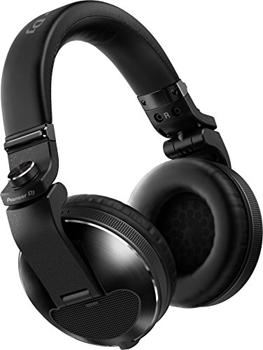 Pioneer HDJ-X10 Negro Circumaural Diadema Auricular – Auriculares (Circumaural, Diadema, Alámbrico, 5-40000 Hz, 1,2 m, Negro)