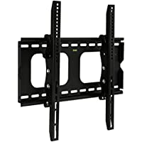 Mount-It! MI-303S Premium Tilting TV Wall Mount Bracket for 23 - 37 inch LCD, LED, or Plasma Flat Screen TV - Super-strength Load Capacity 100 lbs - 15 Degree Tilt Mechanism Up & Down, Max VESA 400x300 with FREE 6 ft HDMI cable