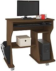 مكتب كمبيوتر ارتلي 160 بالالوان بني/ اسود، 78 سم × 88 سم × 46 سم