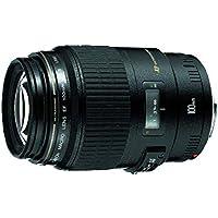 Lente EF, Canon, 100mm f/2.8 Macro USM, Preta