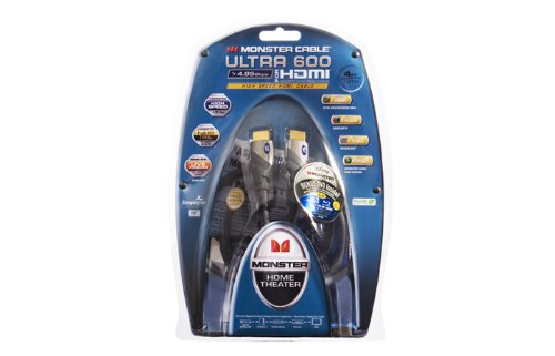 Monster U3 V600 HDMI-4 Standard Speed HDTV HDMI Cable (4 feet)