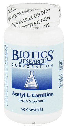 Biotics Research, Ацетил-L-карнитин (Acetyl-L-Carnitine) 90 капсул