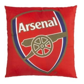 Arsenal FC Football Soccer Printed Crest Cushion by Arsenal