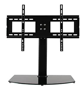 "ShopJimmy Universal TV Stand / Base + Wall Mount for 37"" - 55"" Inch Flat-Screen TVs"