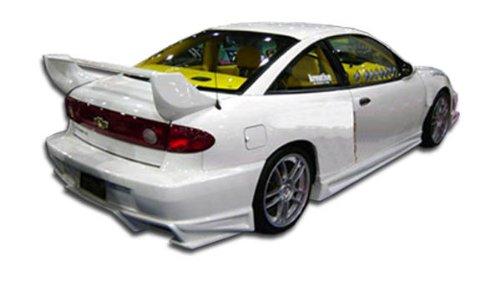 Duraflex ED-NVI-370 Bomber Rear Bumper Cover - 1 Piece Body Kit - Compatible For Chevrolet Cavalier 2003-2005