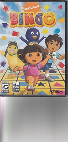 Nickelodeon BINGO -Features Dora, Diego, Wonderpets & Backyardigans
