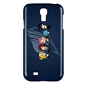 Fairy Tail Chibi Snap on Plastic Case Cover Compatible with Samsung Galaxy S4 GS4