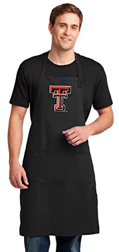 Texas Tech Apron LARGE Texas Tech Red Raiders Aprons For Men or Women