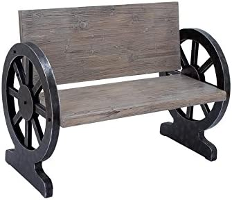 Deco 79  Wood Bench 43 x 33