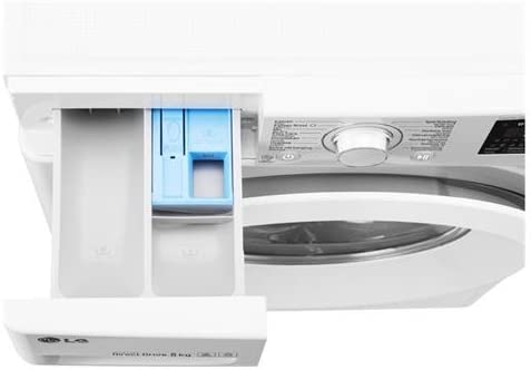 LG Lavadora F4J5TN3W 6 Motion 8 kg Clase A +++ -30% centrifugador ...