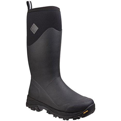 Muck Boots Mens Arctic Ice Tall Extreme Conditions Gummistiefel. Schwarz/ Dunkeler Schatten
