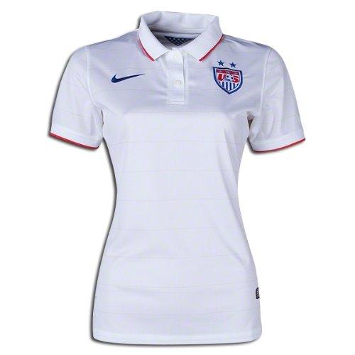 (Nike Women's U.S. World Cup 2014 Stadium Jersey - Size XS White 578013 105)
