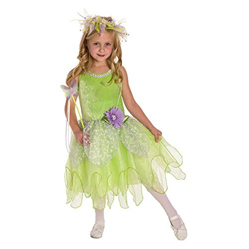 Little Adventures Tinkerbell Fairy Dress Up Costume Size Large Age 5-7 -