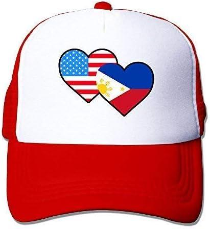 FunnyStuffs Gorra de béisbol para Adultos, Bandera de Filipinas ...