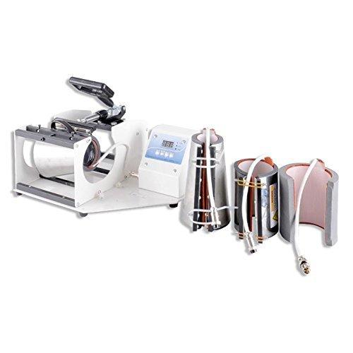 Interchangeable Mug Element Digital 11oz / 15oz Mug Press Machine - Heat Transfer Sublimation (With Add-On Shot Glass Heat Element)