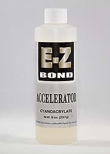 E-Z Bond Cyanoacrylate Accelerator Refill 8 Oz