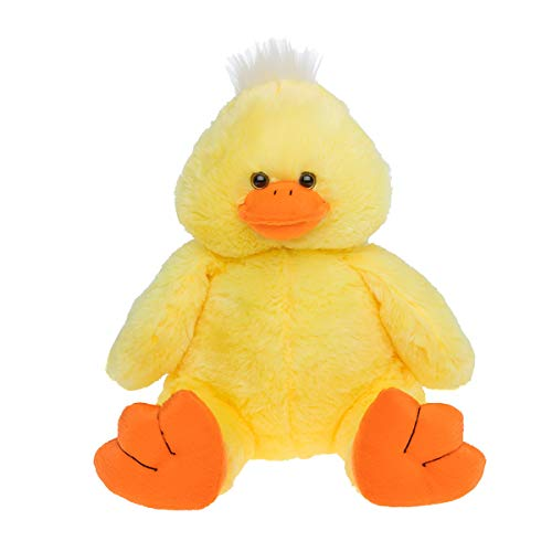 Cuddly Soft 16 inch Stuffed Yellow Plush Duck.We stuff 'em.you love 'em! from Stuffems Toy Shop