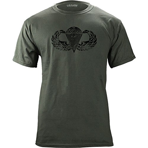 Parachutist Badge Subdued Veteran T Shirt