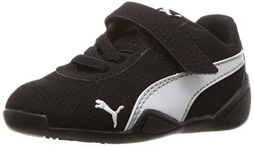 PUMA Kids' Tune CAT 3 NBK V INF Running Shoe, Black Whit, 5 M US Toddler