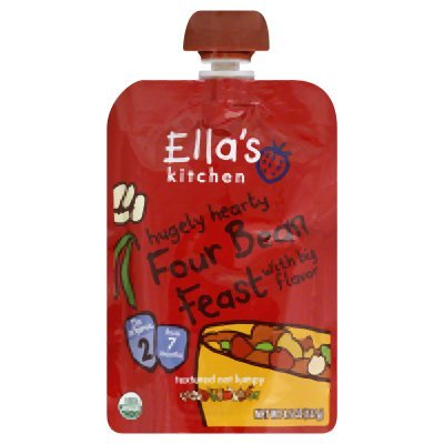 ELLAS KITCHEN INC BBY FD,OG2,FOUR BEAN,2 - 4.5 OZ - CS x12