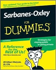 Sarbanes-Oxley For Dummies 2nd (second) edition Text Only pdf