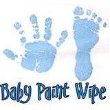 Imp Prints Co Baby Hand Print Footprint Paint Wipe Kit (Blue)