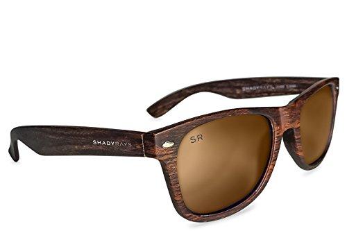 Shady Rays Classic Series Polarized Sunglasses Amber Woods by Shady Rays