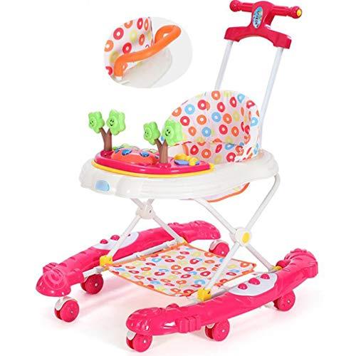 Andaderas Andador del desarrollo Caminante de la actividad Caminante de los niños pequeños Caminador de bebés 6 / 7-18...