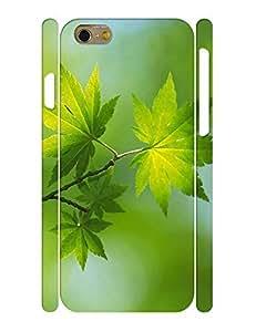 Beauty Charm Green Nature Phone Accessories Hard Skin Case Cover for Iphone 6 - 4.7 Inch wangjiang maoyi