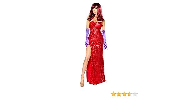 Rabbits Lover (Jessica Rabbit) Womens Costume - X-Large: Amazon ...
