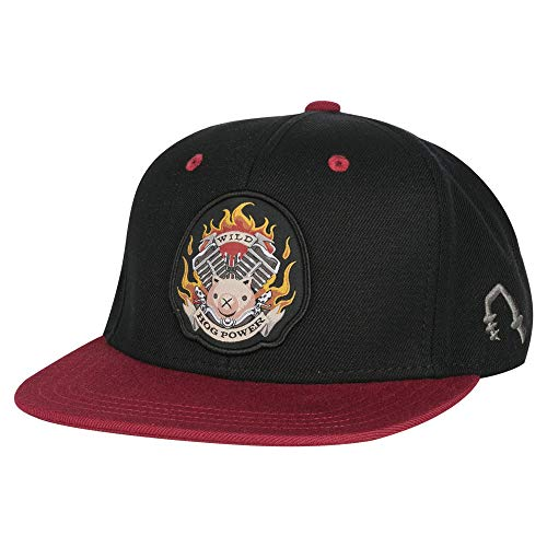 JINX Overwatch Roadhog Snapback Baseball Hat, Black, One Size