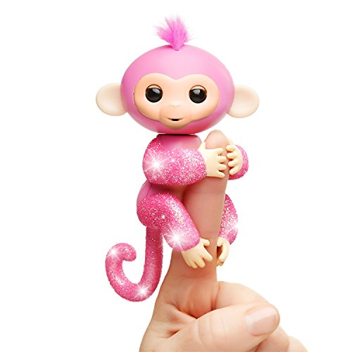 Fingerlings Glitter Monkey Rose Interactive Baby Pet Only $8.52