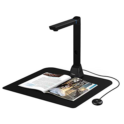 VIISAN Document Camera, Windows Chromebook Mac iOS Compatible, 4608 x 3456 DPI, One-Click Scanning up to A3 Size…