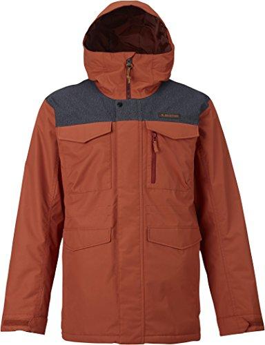 Burton Men's Covert Jacket, Picante/Denim, Medium