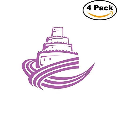 fan products of Al Ain United Arab Emirates Soccer Football Club FC 4 Stickers Car Bumper Window Sticker Decal 4X4