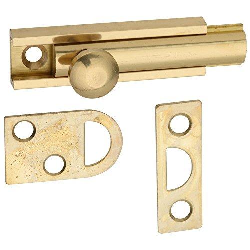 National Hardware N197-962 V1922 Flush Bolt in Solid Brass ()