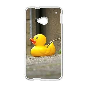 Personalized Creative Cell Phone Case For HTC M7,little yellow duck wangjiang maoyi