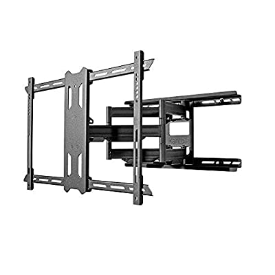 Kanto PDX650 Full Motion Mount for 37-inch to 70-inch TVs - Black