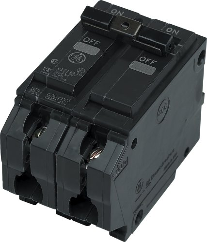 General Electric THQL2125 Circuit Breaker, 2-Pole 25-Amp Thick Series (Single Circuit Breaker Ge Pole)