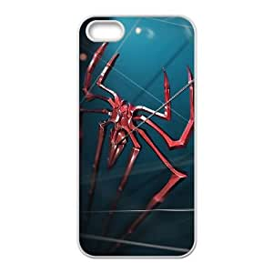 The Amazing Spiderman Logo iPhone 4 4s Cell Phone Case White Protect your phone BVS_659516