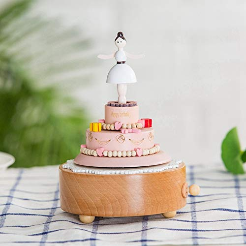 (SHANYYH Wooden Music Box Gift Gifts for Kids Musical Carousel Ferris Wheel Boxes Boxs Home Decoration)