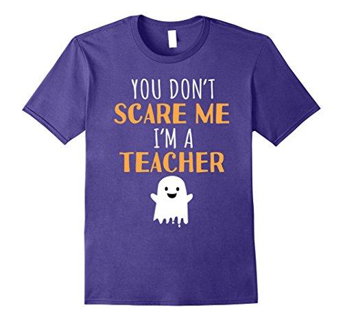 Mens Funny Teachers Halloween T Shirt Cute Halloween Gift Large (Class Halloween Decorations)