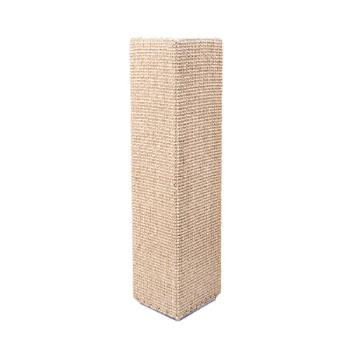 Sofa-Scratcher Squared' Cat Scratching Post & Couch-Corner/Furniture Protector (Beige)