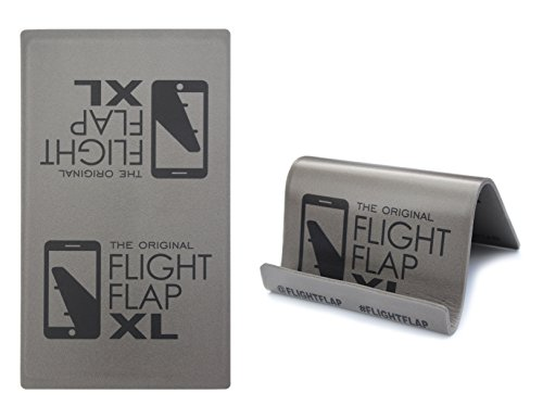 Flight Flap XL - Tablet Holder, Designed for Air Travel - Flying, Traveling, In-Flight Stand for iPad, Surface and Kindle tablet devices by Flight Flap