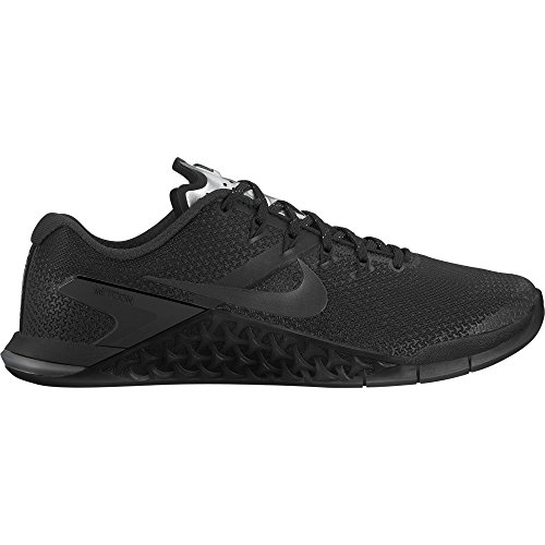 NIKE Women's Metcon 4 Training Shoes (6.5, Black/Black-M)