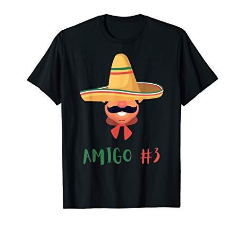 Funny Mexican Amigo #3 Group Matching DIY Halloween Costume