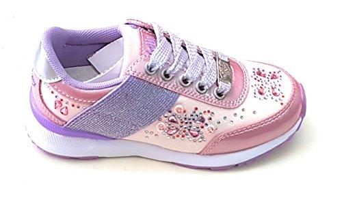 Kelly Sneakers Fille Lelli Farfalla Basses Rose vOqwUPZw